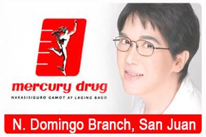 Mercury Drug N Domingo Branch