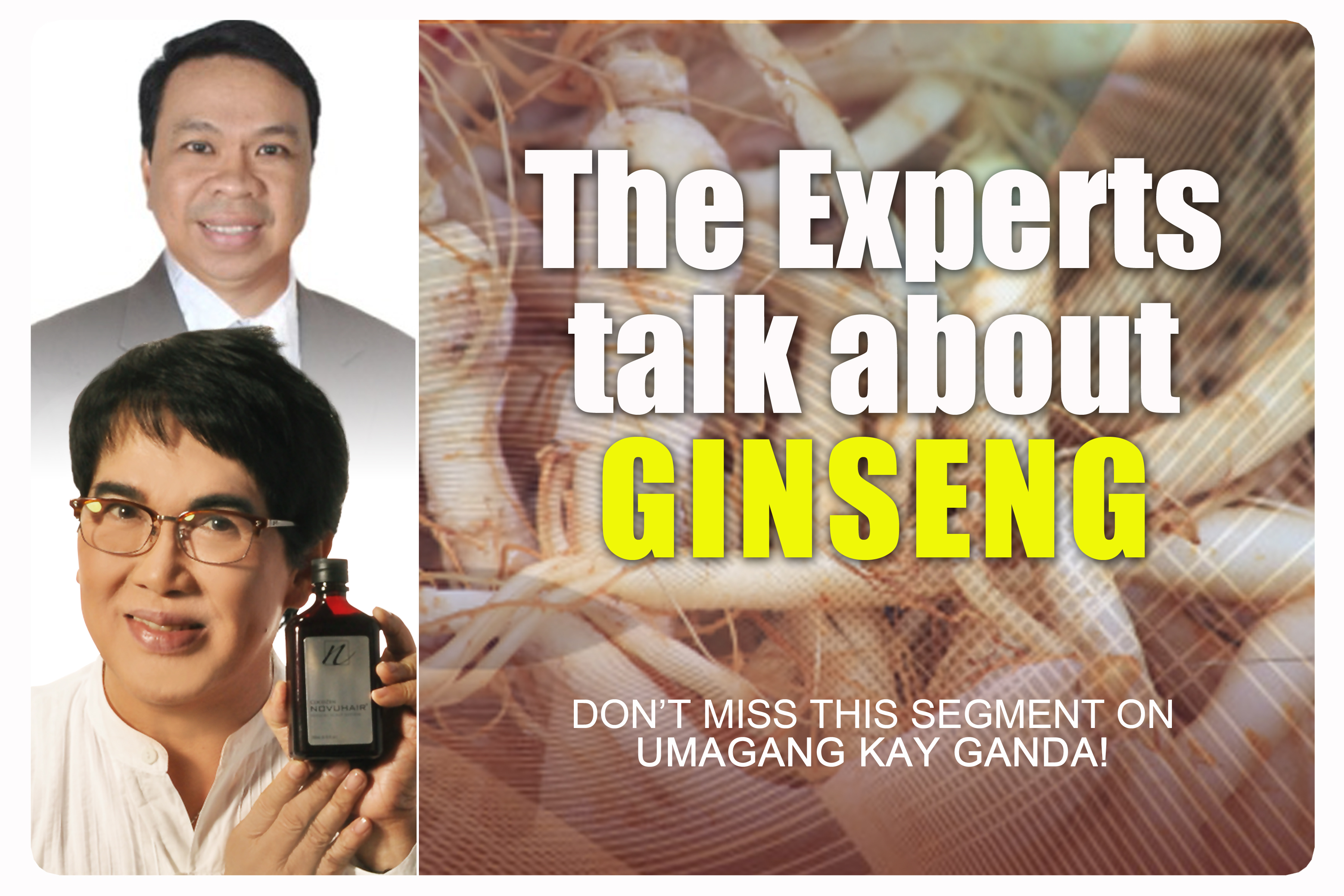 ABS CBN UKG Ginseng
