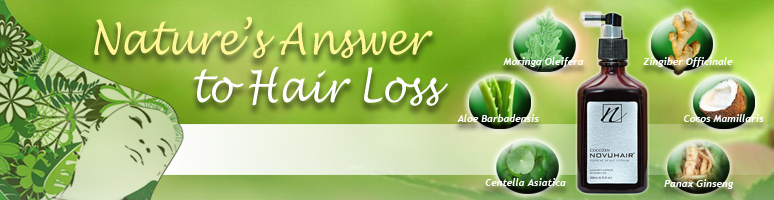 Natural Ingredients for hair loss