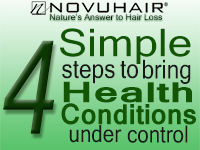 4 Simple steps to bring health conditions under control