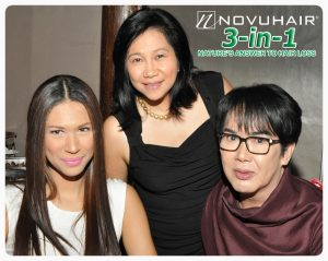 Gwen Ruais, Mae Velilla and Fanny Serrano Novuhair 3in1 Press Conference May 22 2013 Taste of LA Quezon City