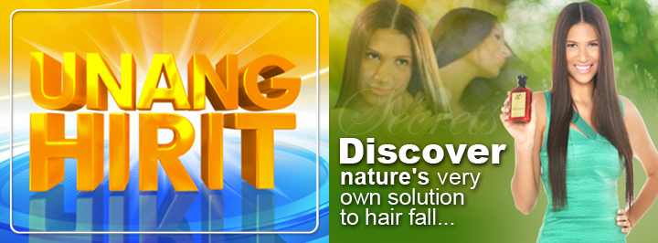 Unang Hirit GMA7 Discover nature s very own solution to hair fall September 2 2013