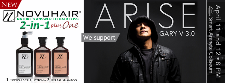 ARISE GARY V April 11 & 12 2014 Araneta Coliseum