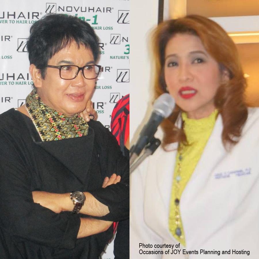 Fanny Serrano & Dr Cecila Catapang