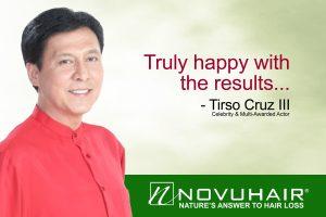 Tirso Cruz for Novuhair