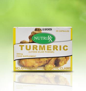 Novuhair Package Turmeric