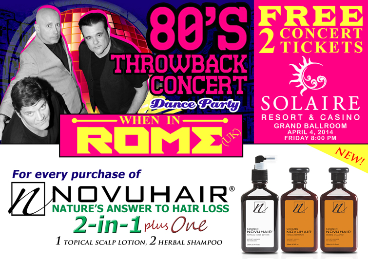 Ensogo Promo for 80s Throwback Concert at Solaire