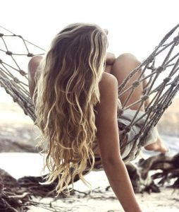 Protecting the hair from summer heat - pinterest com