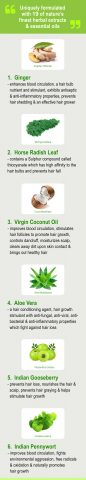 19 natural ingredients