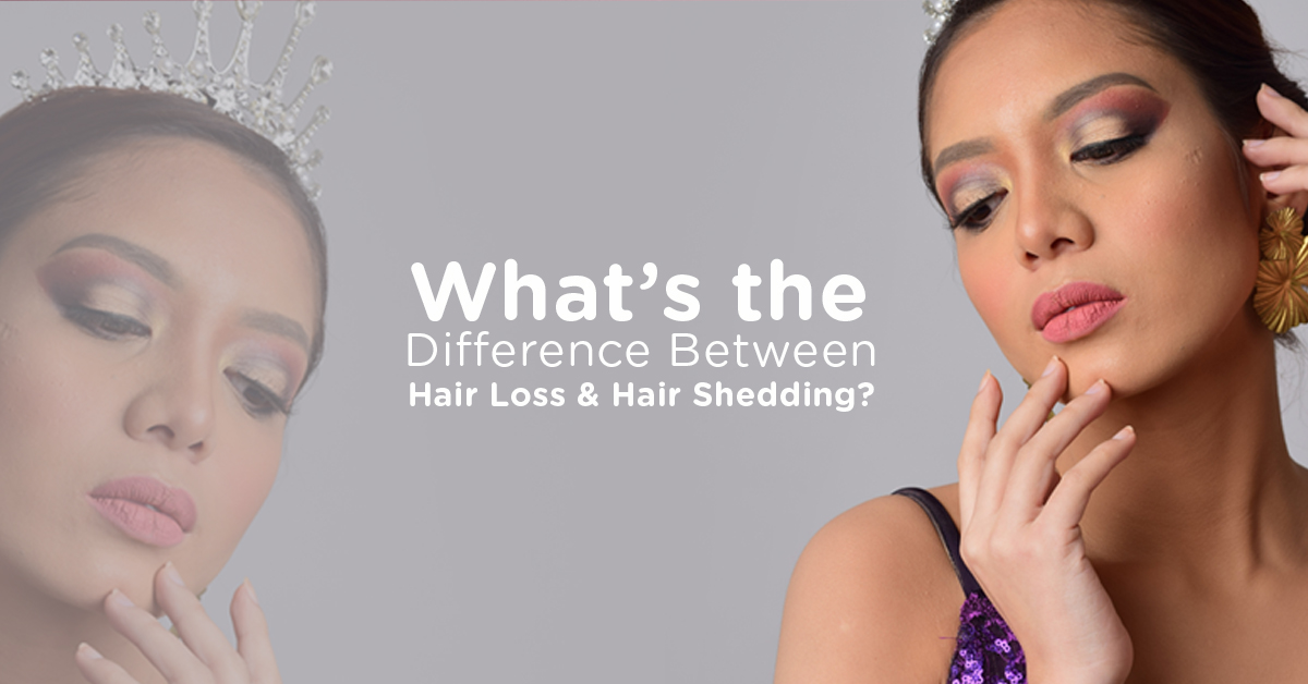What's the Difference Between Hair Loss and Hair Shedding?
