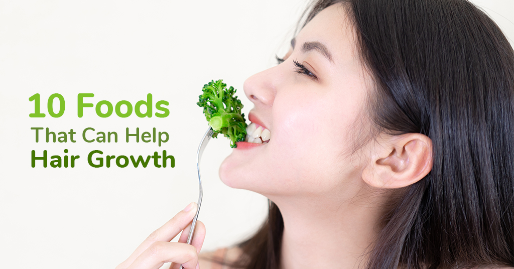 10 Foods That Can Help Hair Growth