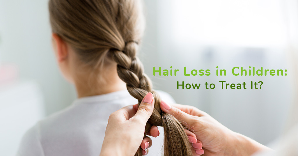 Hair Loss in Children: How to Treat It?